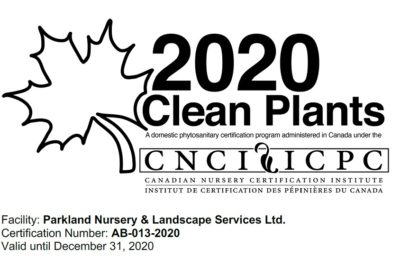 2020 clean plant stamp